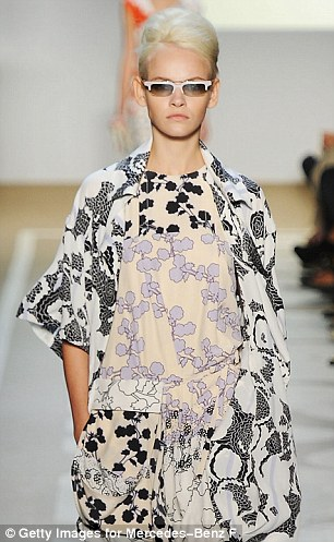 Variety: There was a whimsical feel to the delicate prints and muted palette that contrasted with the bolder graphic prints