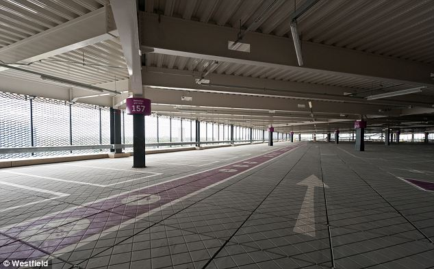 Remember where you left it? The Westfield car park has 5,000 spaces