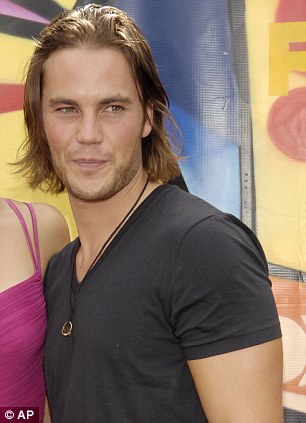 Lucky girl: Taylor Kitsch plays one of Blake's boyfriends
