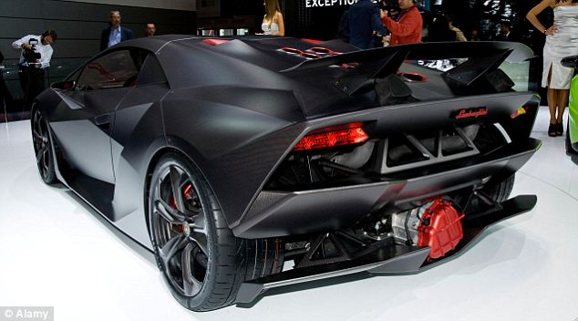 Expensive: The Sesto Elemento will cost upwards of £1.5million