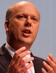 'Regret': But Housing Minister Chris Grayling says job losses are essential to curb public spending