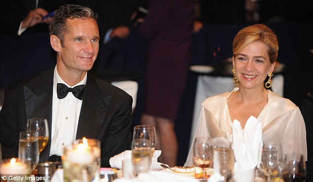 Special guests: Princess Cristina of Spain and her husband, Inaki Urdangarin, attend the Congressional Hispanic Caucus Institute's 34th Annual Awards Gala
