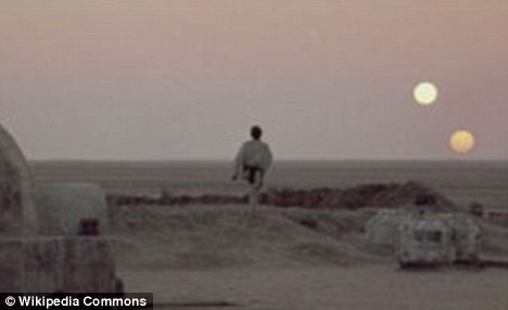 Science fiction: The notion of a planet wth two suns may seem familiar - because Luke Skywalker lived on one in Star Wars