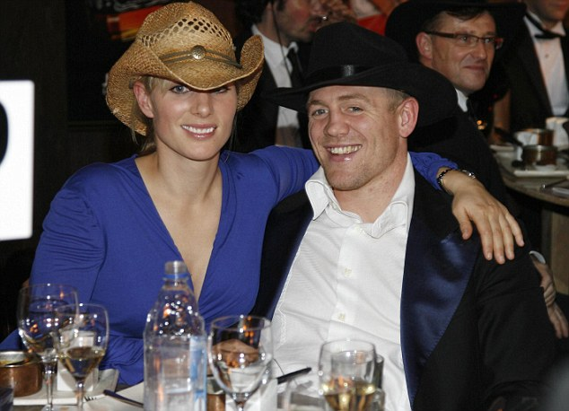 Trouble ahead: Mike Tindall knows he is in for a rough time from his new wife in the next few weeks, but they are both avid party-goers who have never had drink far from their side