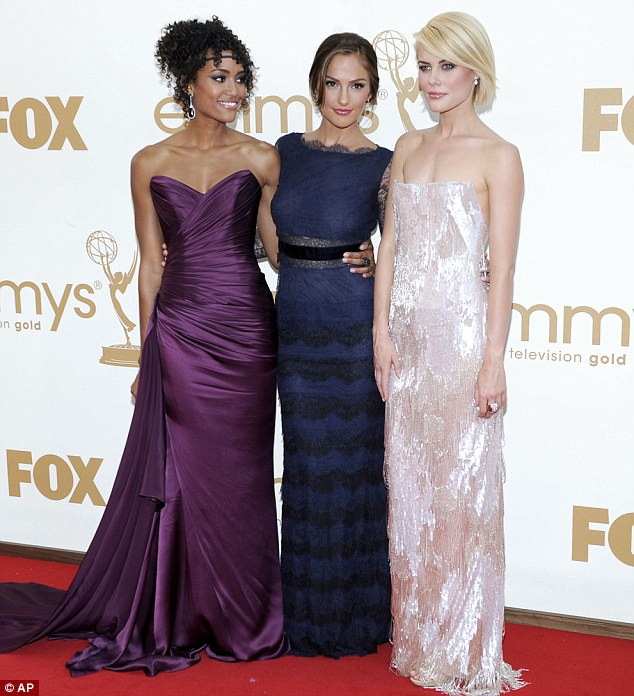 Just heavenly: Charlie's Angels stars Annie Ilonzeh, Minka Kelly and Rachael Taylor