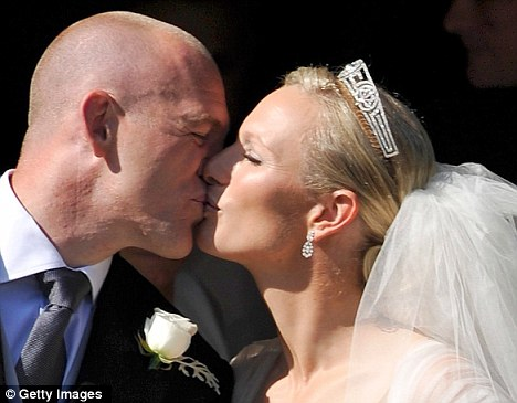 Mike Tindall and Zara Phillips tied the knot seven weeks ago
