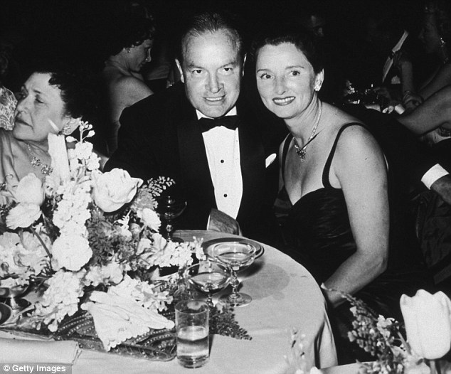 Devoted: The couple at a formal dinner in 1948, they 'were always laughing'