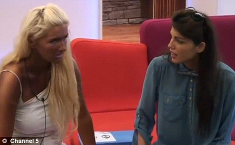 Words of comfort: Nothing Louise said could cheer miserable Alex up