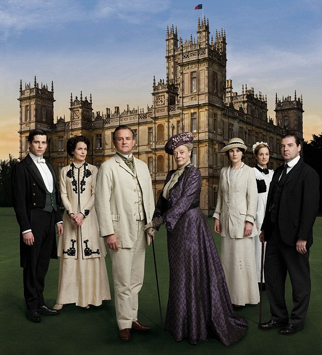 Reality TV: The estate could prove popular with fans of television show Downton Abbey