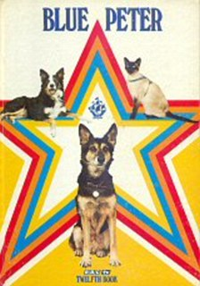 The pets are the stars: Petra, Shep and Jack the cat appeared on the cover in 1976