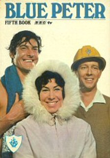 The fifth annual saw the show's presenters John Noakes, Valerie Singleton and Peter Purves adorn the cover