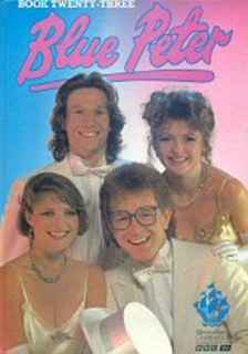 Mark Curry and Caron Keating donned their glad rags for the cover of the 1988 edition