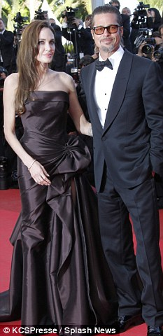 Backtracking: Pitt, seen here with current partner Angelina Jolie continued to back track on The Today Show, this morning