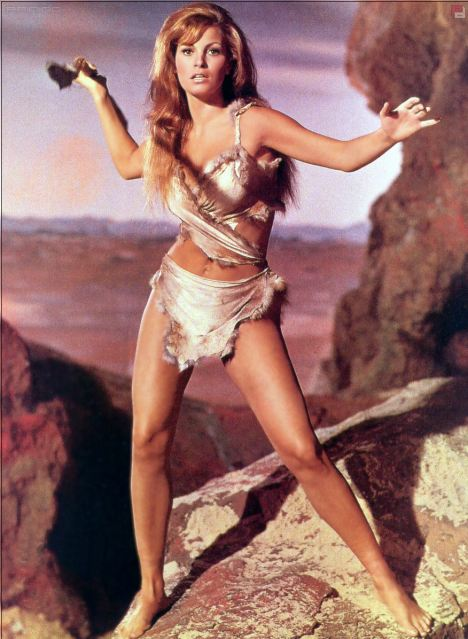 PC? Raquel Welch in her fur bikini in One Million Years BC