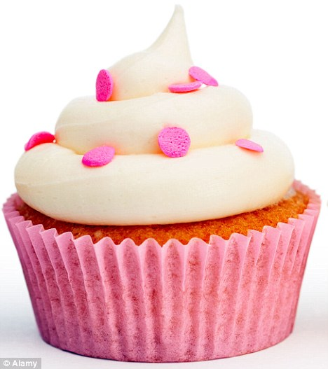 Sugar addict: According to research cravings can be particularly strong if sweet treats were used as a reward in childhood