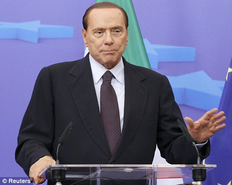 'Intolerable': The Italian Prime Minister's leadership has been slammed as 'a dictatorship' by the much feared U.S. Vogue editor-in-chief