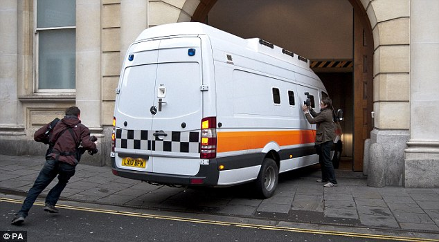 A prison van, similar to the one pictured, was sent from Southampton to Banbury, to transport a defendant 60 yards