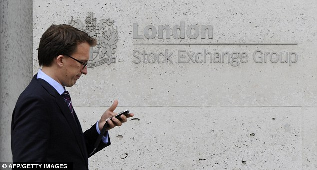 The FTSE 100 index of leading shares opened down 2 per cent this morning but by the end of Monday there was a 22 point rise