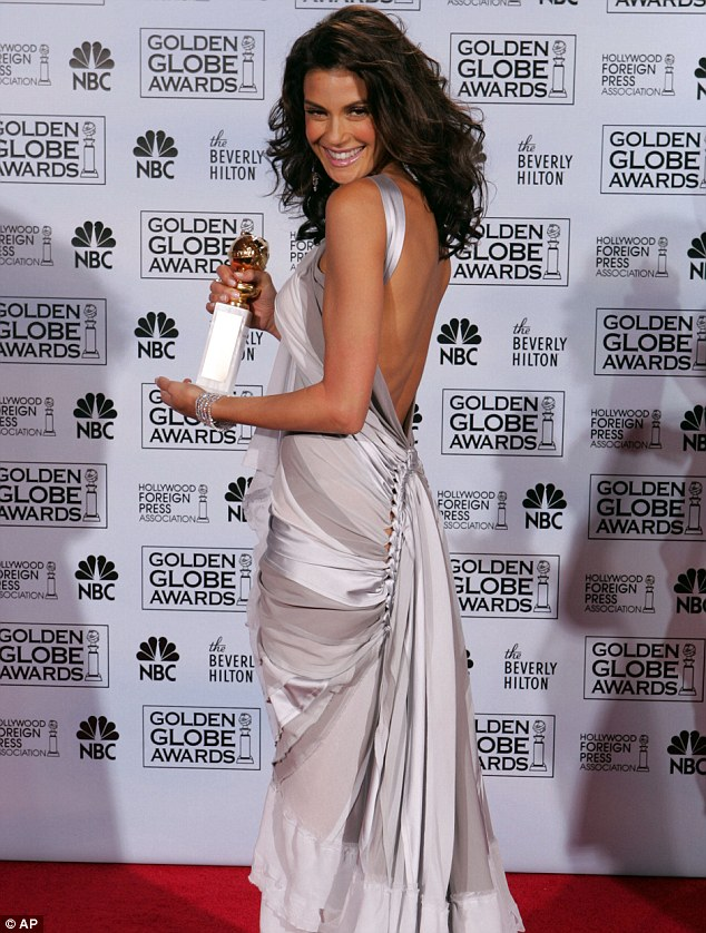 Winning! The now 46-year-old actress won a Golden Globe for Housewives in 2005