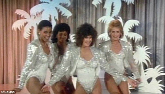 A lovely beginning: Teri Hatcher got her showbiz start onthe cult nineteen-eighties television show, The Love Boat