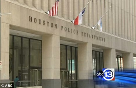 'A big deal': Houston Police Department said it is taking the allegations seriously but it is unclear whether the officers will face disciplinary action