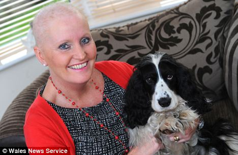 Brenda Jones says her dog Mrs Murphy has been a life-saver