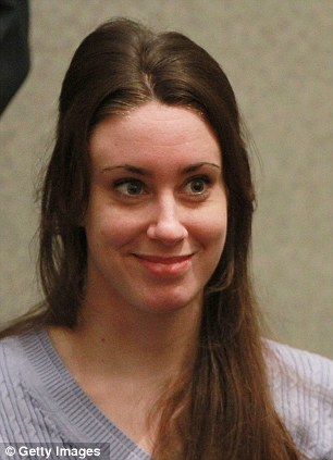 Worries: Casey Anthony is said to be cracking up under the pressure