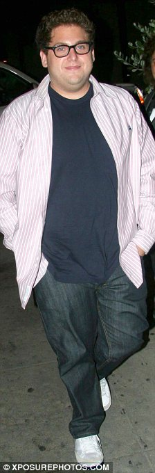 New man: The Superbad actor looks completely different to how he did, seen here in 2008