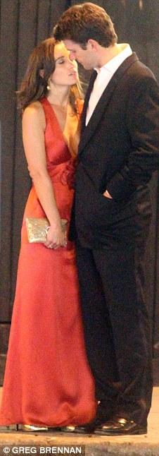 Pippa Middleton has a little sleep on boyfriend Alex Loudon
