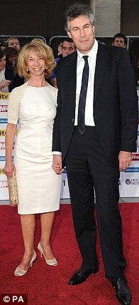 They all filed in two by two: (L-R) Skating partners Jayne Torvill and Christopher Dean, Sky Sports presenter Ben Shephard and his wife Annie, while Corrie star Helen Worth arrived with partner Trevor Dawson