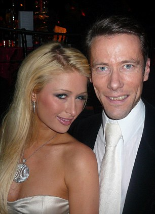 Social status: Davenport was well-known on the international party circuit, making friends like Paris Hilton