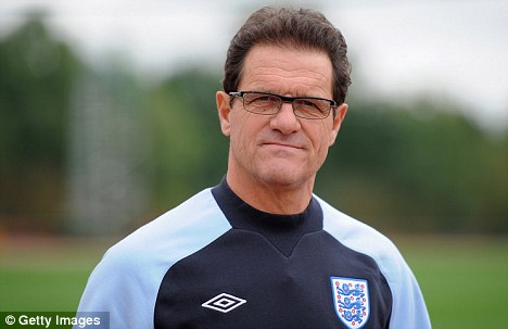 Set to go: Capello is set to leave his England position after Euro 2012