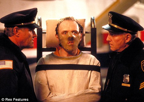 Film role: Napier (right) with Anthony Hopkins in The Silence Of The Lambs