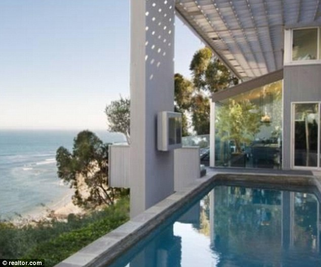 A pool with a view: This angle gives a different example of the spectacular vision from poolside