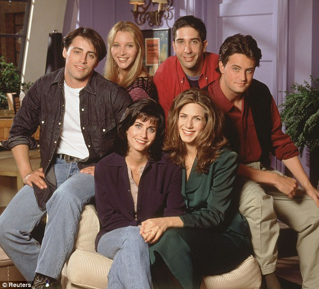 Friends brings benefits: Starring in the popular show has allowed the actor to live a life of luxury