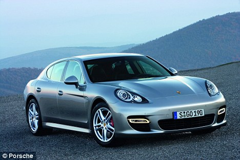 New wheels?: Lindsay is said to have bought the Porsche Panamera, which costs $80,000 plus