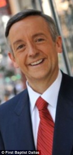 Robert Jeffress, senior pastor at First Baptist Church in Dallas, told reporters that Romney is 'a good moral person' but is not considered a Christian as he is Mormon