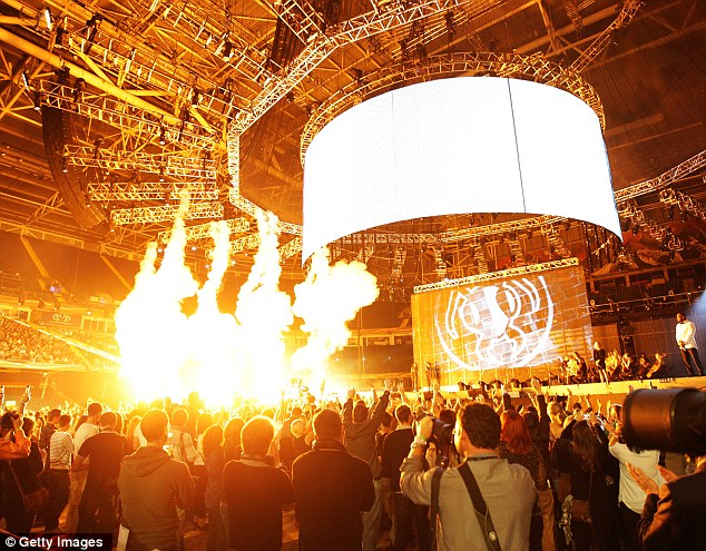 On fire! Alien Ant Farm set the stage alight with pyrotechnics with a performance to remember in Cardiff