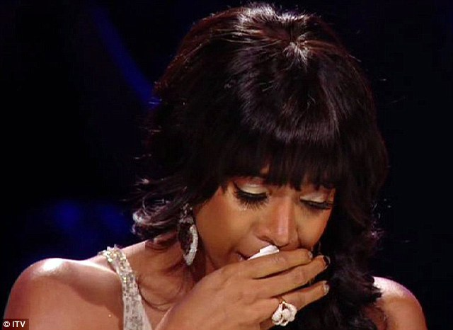 Too much: But the drama of Kelly Rowland eliminating 16-year-old Amelia Lily wasn't enough to keep viewers entertained