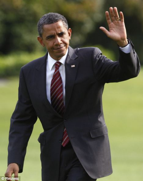 See you later: Barack Obama reportedly finishes his working day at 4pm