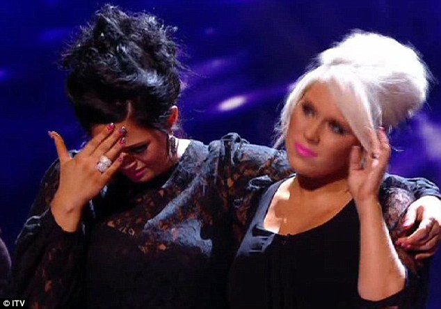 Time to say goodbye: Essex girl duo 2 Shoes were kicked off the show