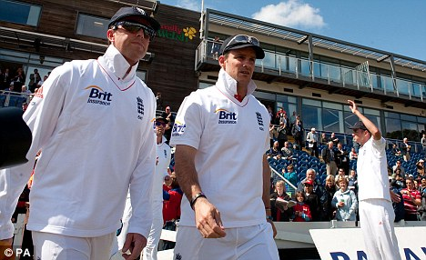 Better relationship: Swann says Andrew Strauss gets the best of him as a bowler