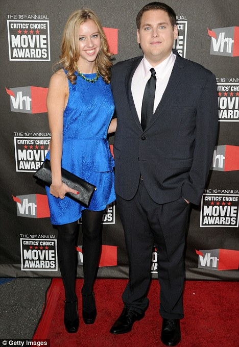 Not a laughing matter: Jonah Hill is said to have split from his girlfriend Jordan Klein