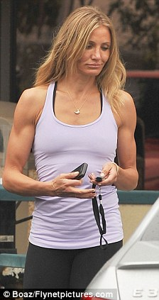 Fitness freaks: A-rod's ex-girlfriends, Cameron and Madonna are both mad about the gym