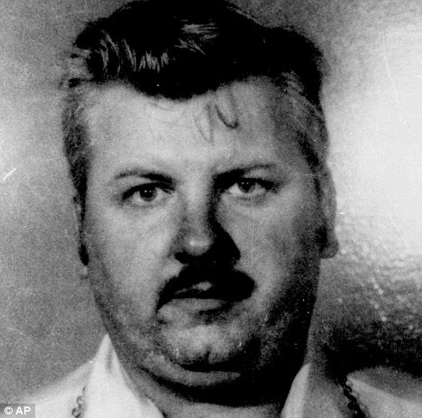 Infamous: John Wayne Gacy was convicted of murdering 33 people, and was executed in 1994