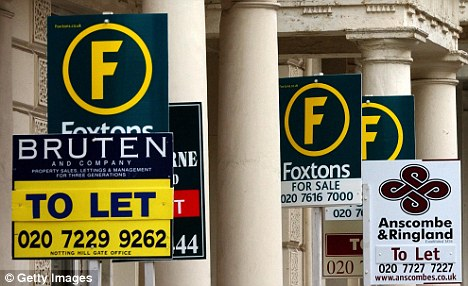 Soaring prices: Average rental prices are beyond the means of families in more than half of local authorities in England