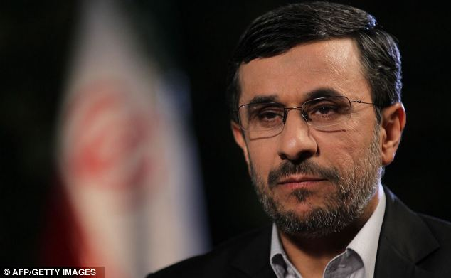 Held to account: It is unclear, however, if Mahmoud Ahmadinejad was aware of the plot