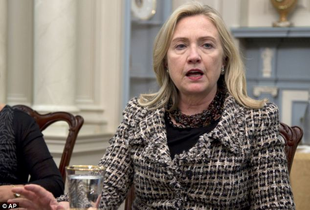 Furious: Hilary Clinton said the uncovered plot 'crosses a line that Iran needs to be held to account for'