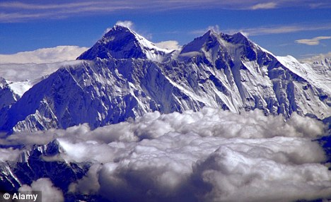 Caught short: An environmental group has called for portable toilets to be installed at Mount Everest's base camp to cut down on waste left on the mountain