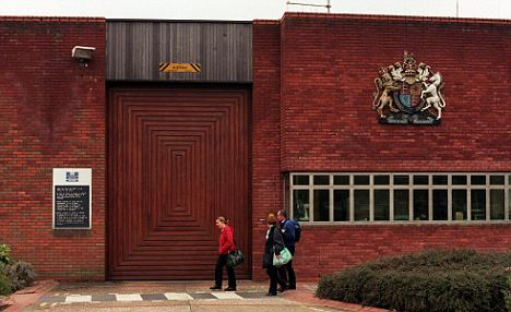 Allegations: Feltham Young Offenders Institution where Fr Soper was chaplin